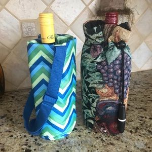 Bundle two Wine Totes